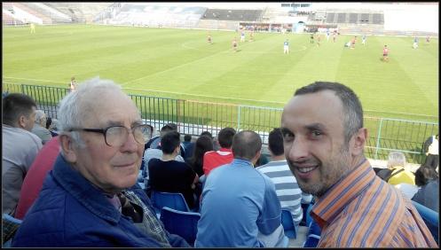 Cu tata la stadion
