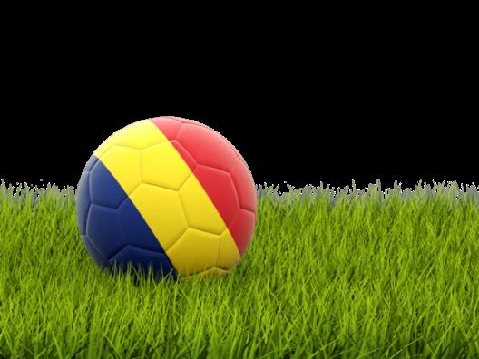 Fotbal Romania minge tricolor