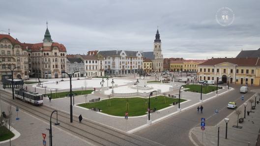 Oradea Piata Unirii 2016