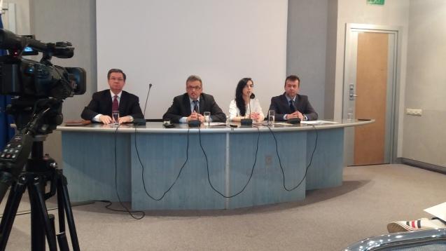 Coalitia Pentru Familie - Conferinta de presa Oradea