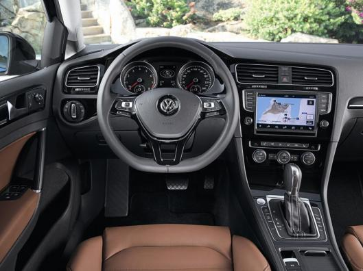 Golf 7 Facelift interior 3